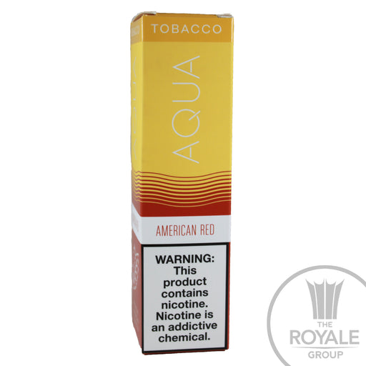 AQUA Tobacco E-Juice - American Red