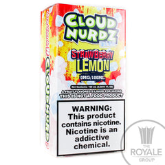 Cloud Nurdz E-Juice - Iced Strawberry Lemon