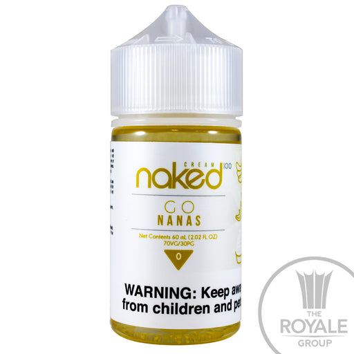Naked 100 E-juice - Go Nanas