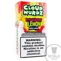 Cloud Nurdz E-Juice - Strawberry Lemon