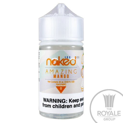 Naked 100 Ice E-Juice - Amazing Mango Ice