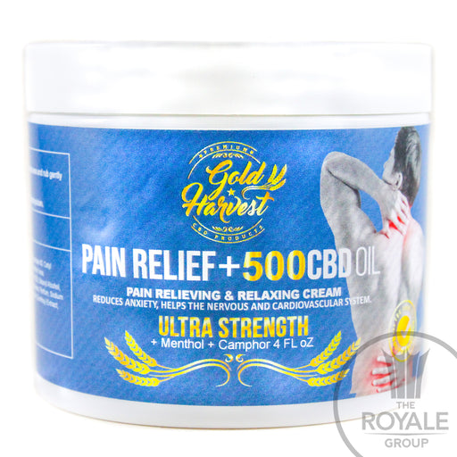 Gold Harvest - Ultra Strength CBD Pain Relief Cream