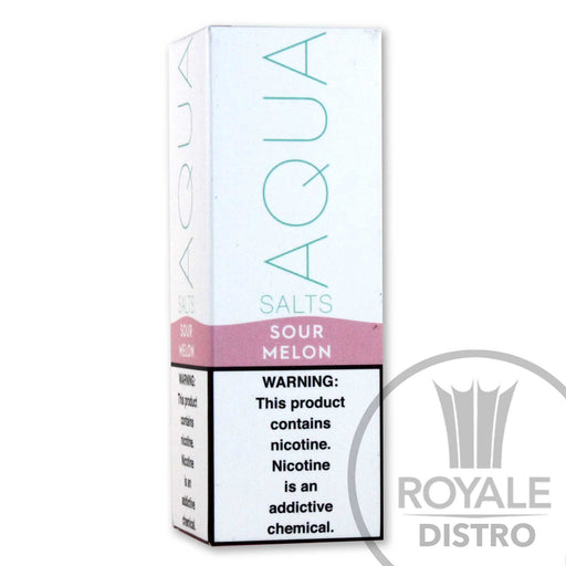 AQUA Salts E-Liquid- Sour Melon