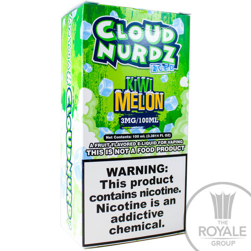 Cloud Nurdz E-Juice - Iced Kiwi Melon