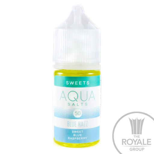 AQUA Salt E-Juice - Blue Razz (Rush)