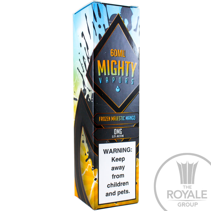 Mighty Vapors E-Juice - Frozen Majestic Mango