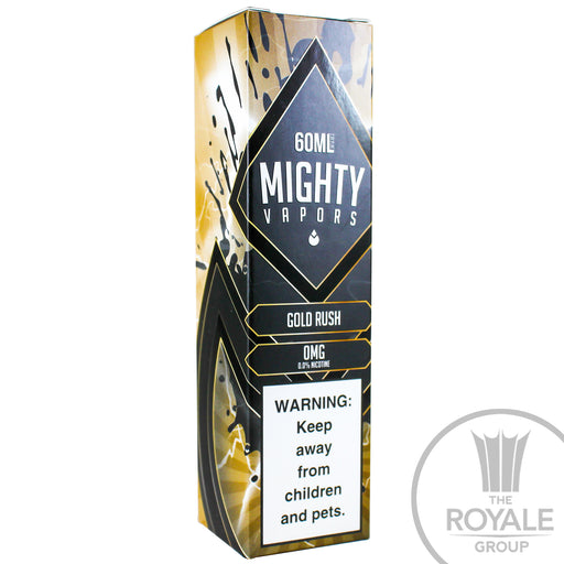Mighty Vapors E-Juice - Gold Rush