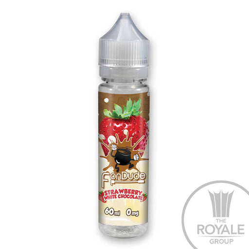 FonDude E-Juice - Strawberry White Chocolate