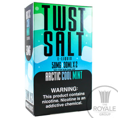 Twist Salt E-Juice - Arctic Cool Mint
