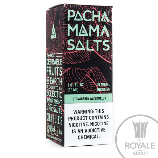 Pacha Mama Salt E-Juice - Strawberry Watermelon