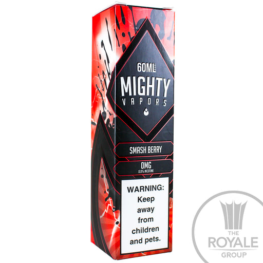 Mighty Vapors E-Juice - Smash Berry
