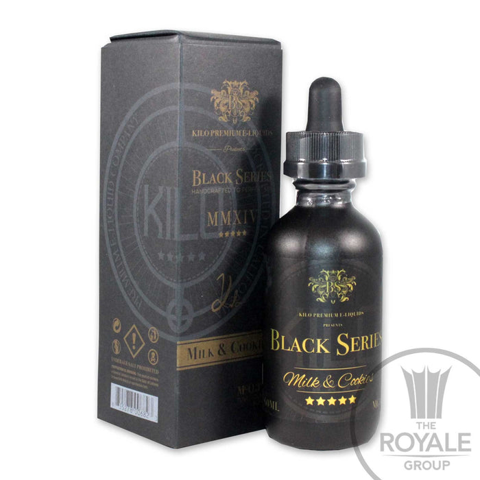 Kilo Black Series E-Juice - Milk & Cookies