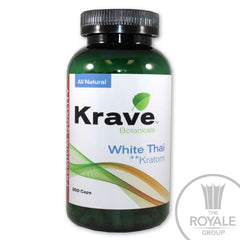 Krave - White Thai Kratom 300 caps