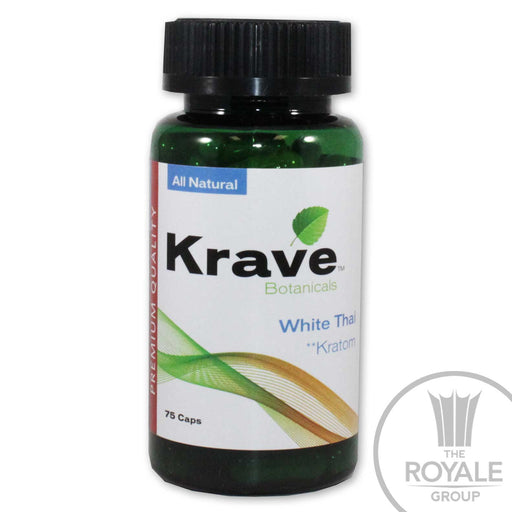 Krave - White Thai Kratom 75 caps
