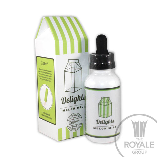 The Milkman Delights E-Juice - Melon Milk
