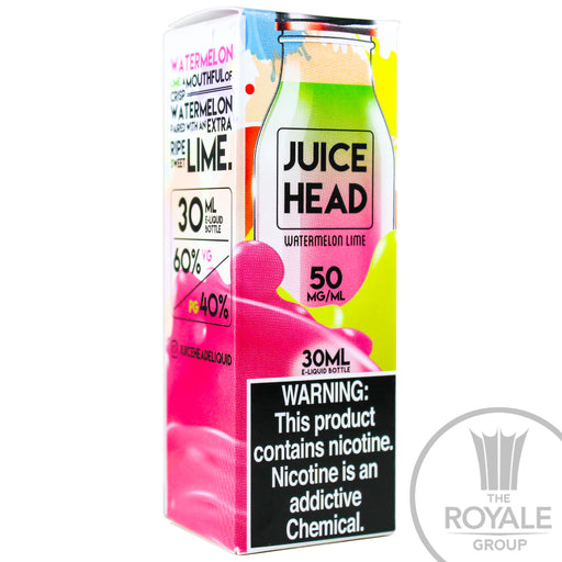 Juice Head Salt E-Juice - Watermelon Lime