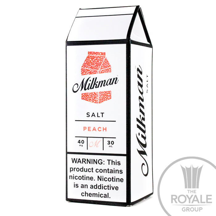 Milkman Salt E-Juice - Peach
