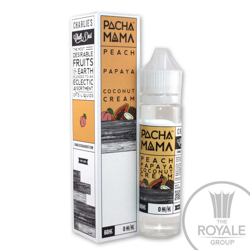 Pacha Mama E-Juice - Peach Papaya Coconut