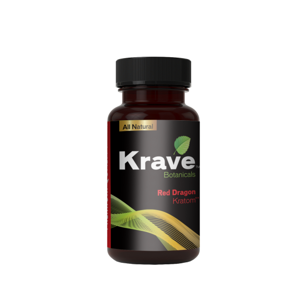 Krave Kratom - Red Dragon