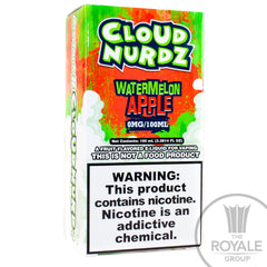 Cloud Nurdz E-Juice - Watermelon Apple