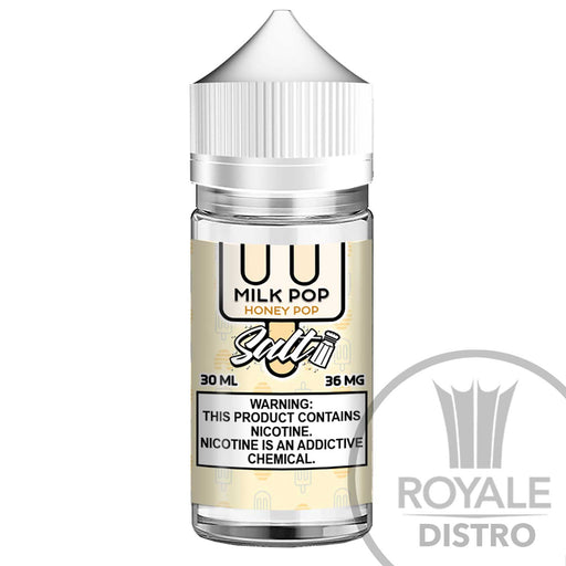Milk Pop Salt E-Juice - honey Pop