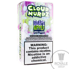 Cloud Nurdz E-Juice - Iced Grape Apple