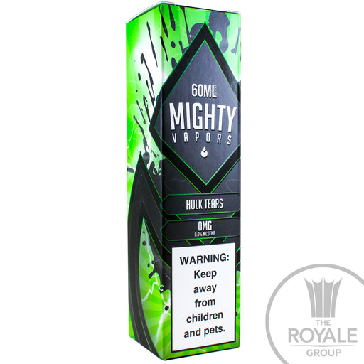 Mighty Vapors E-Juice - Hulk Tears