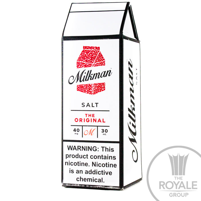 Milkman Salt E-Juice - The Milkman