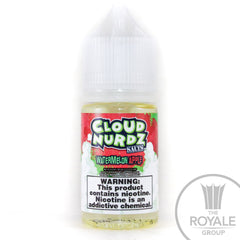 Cloud Nurdz Salt E-Juice - Watermelon Apple