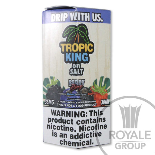 Tropic King Salt E-Juice - Berry Breeze