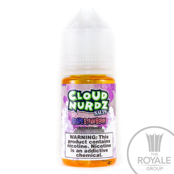 Cloud Nurdz Salt E-Juice - Strawberry Grape