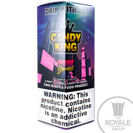 Candy King E-Juice - Pink Squares