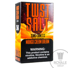 Twist Salt E-Juice - Mango Dream Cream
