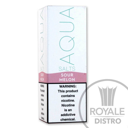 AQUA Salt E-Liquid- Sour Melon