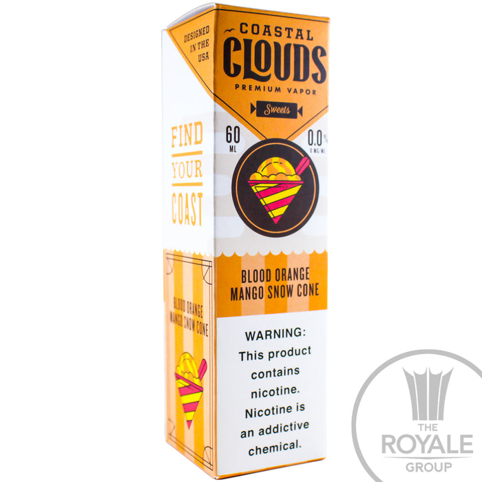 Coastal Clouds E-Juice - Blood Orange Mango Snow Cone