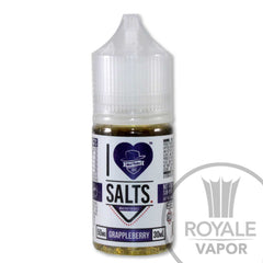 I Love Salts E-Juice - GrAppleBerry