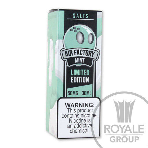 Air Factory Salt E-Juice - Mint