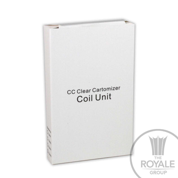 CC Clear Cartomizer Coil Unit