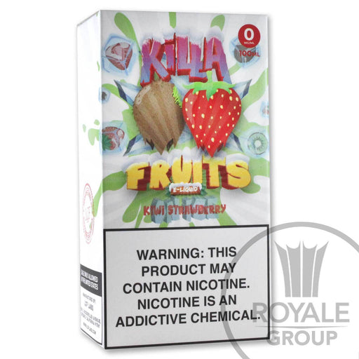 Killa Fruits E-Juice - Kiwi Strawberry On Ice