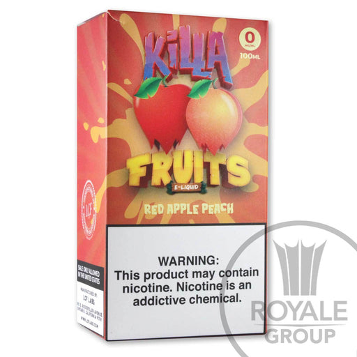 Killa Fruits E-Juice - Red Apple Peach