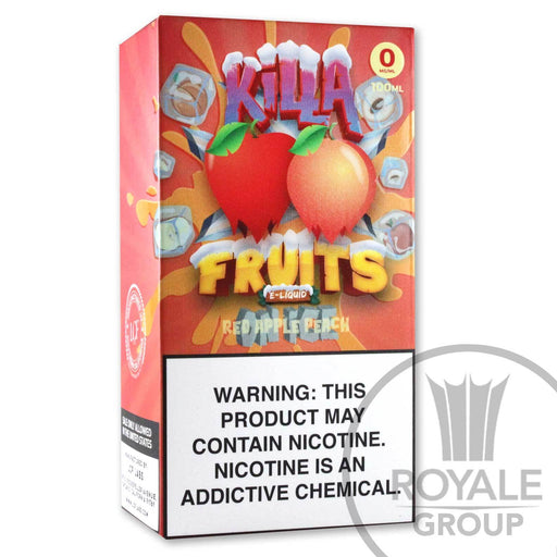 Killa Fruits E-Juice - Red Apple Peach On Ice