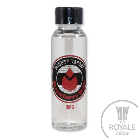 Mighty Vapors E-Juice - Strawberry Boba