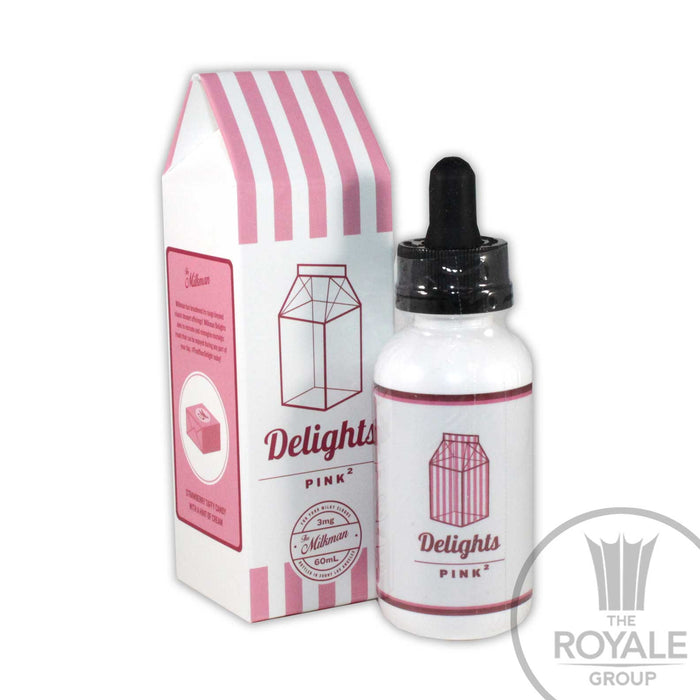 The Milkman Delights E-Juice - Pink 2