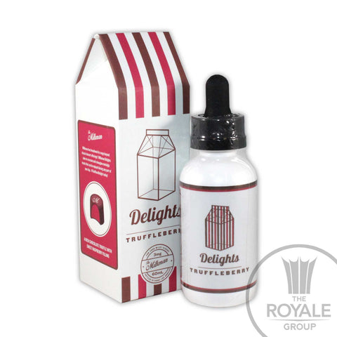 The Milkman Delights E-Juice - Truffleberry