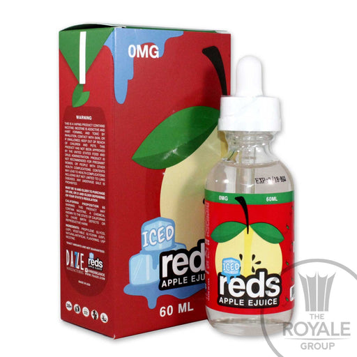 red's Apple E-Juice - Iced Apple