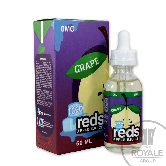 red's Apple E-juice - Iced Grape