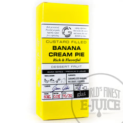 Glas BASIX E-Juice - Banana Cream Pie