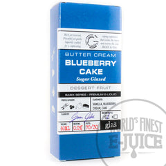 Glas BASIX E-Juice - Blueberry Cake