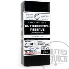 Glas BASIX E-Juice - Butterscotch Reserve