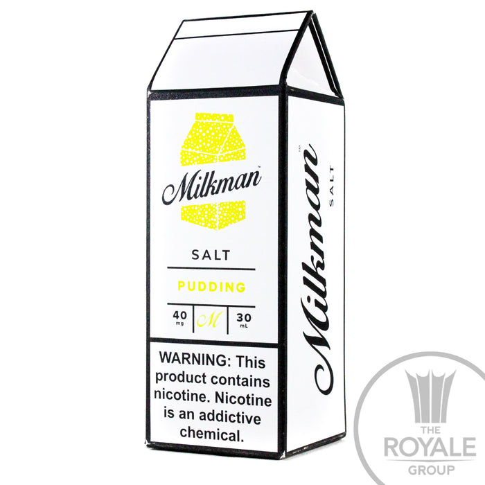 Milkman Salt E-Juice - Pudding